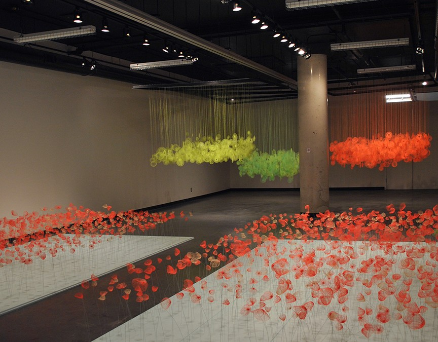 Exhibition: Neon Clouds @ The Ottawa School of Art Gallery