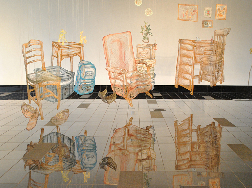 Exhibition: Embroidered Spaces @ The South Puget Sound Community ...
