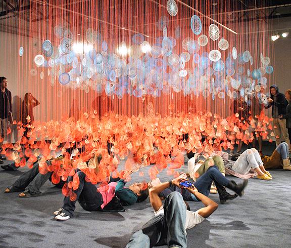 Exhibition: Pink Field, Blue Fog @ The School of Art and Design Gallery @ Louisiana Tech University