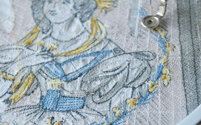 Studio: Embroidered Objects