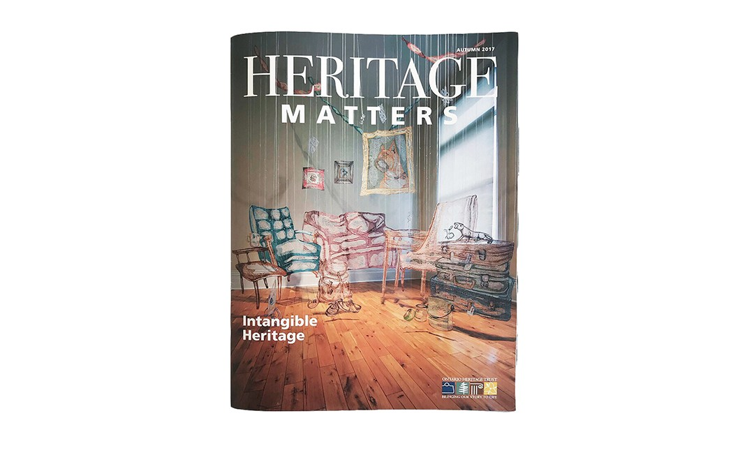 Press: Ontario Heritage Magazine
