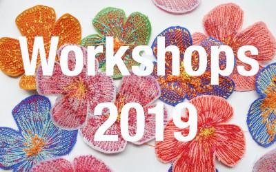 Upcoming Workshops for 2019