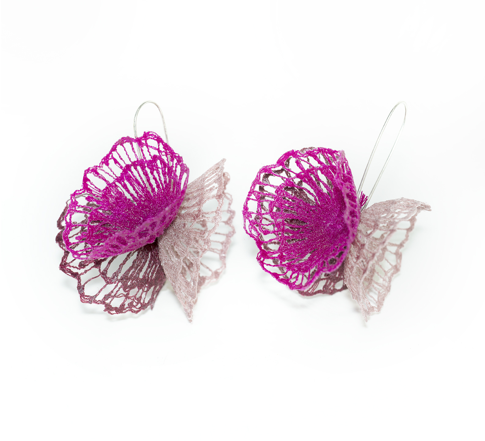 Triple Bloom Earrings