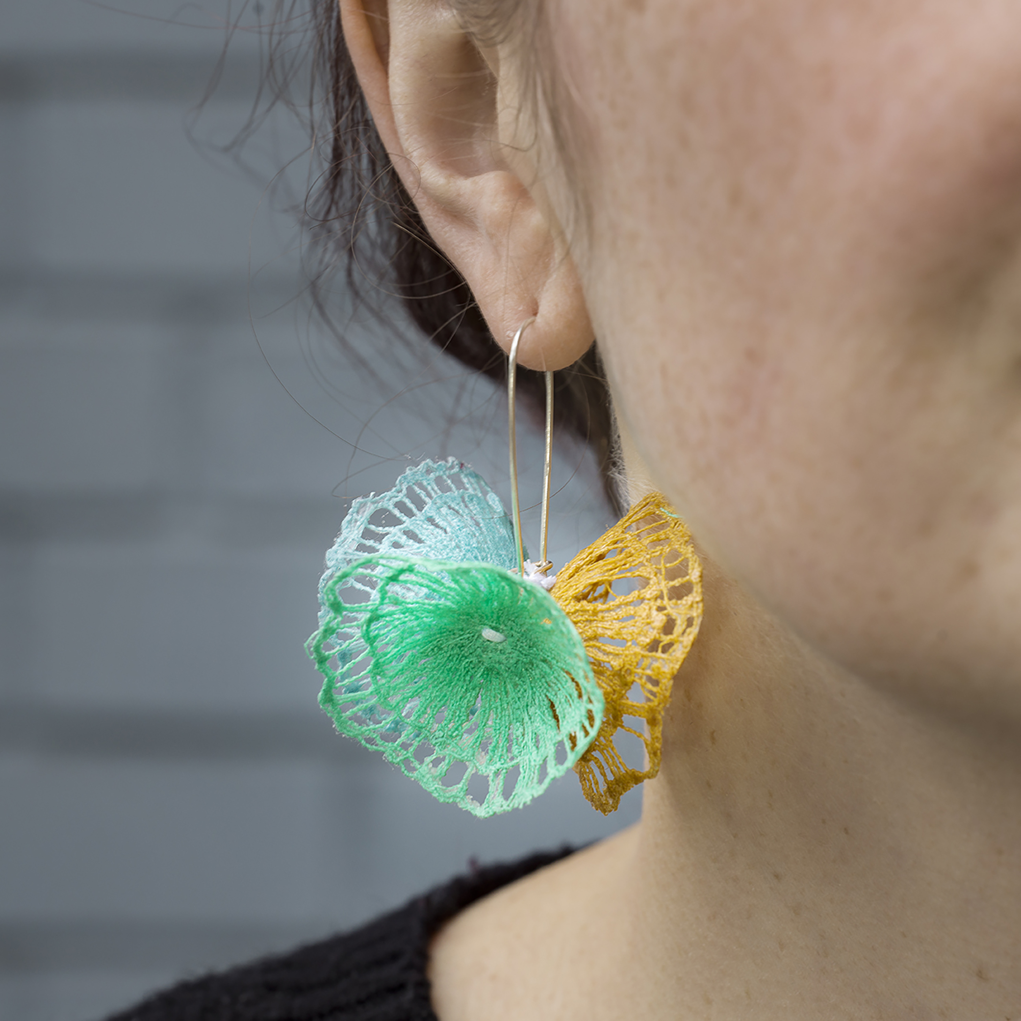 Triple Bloom Earrings