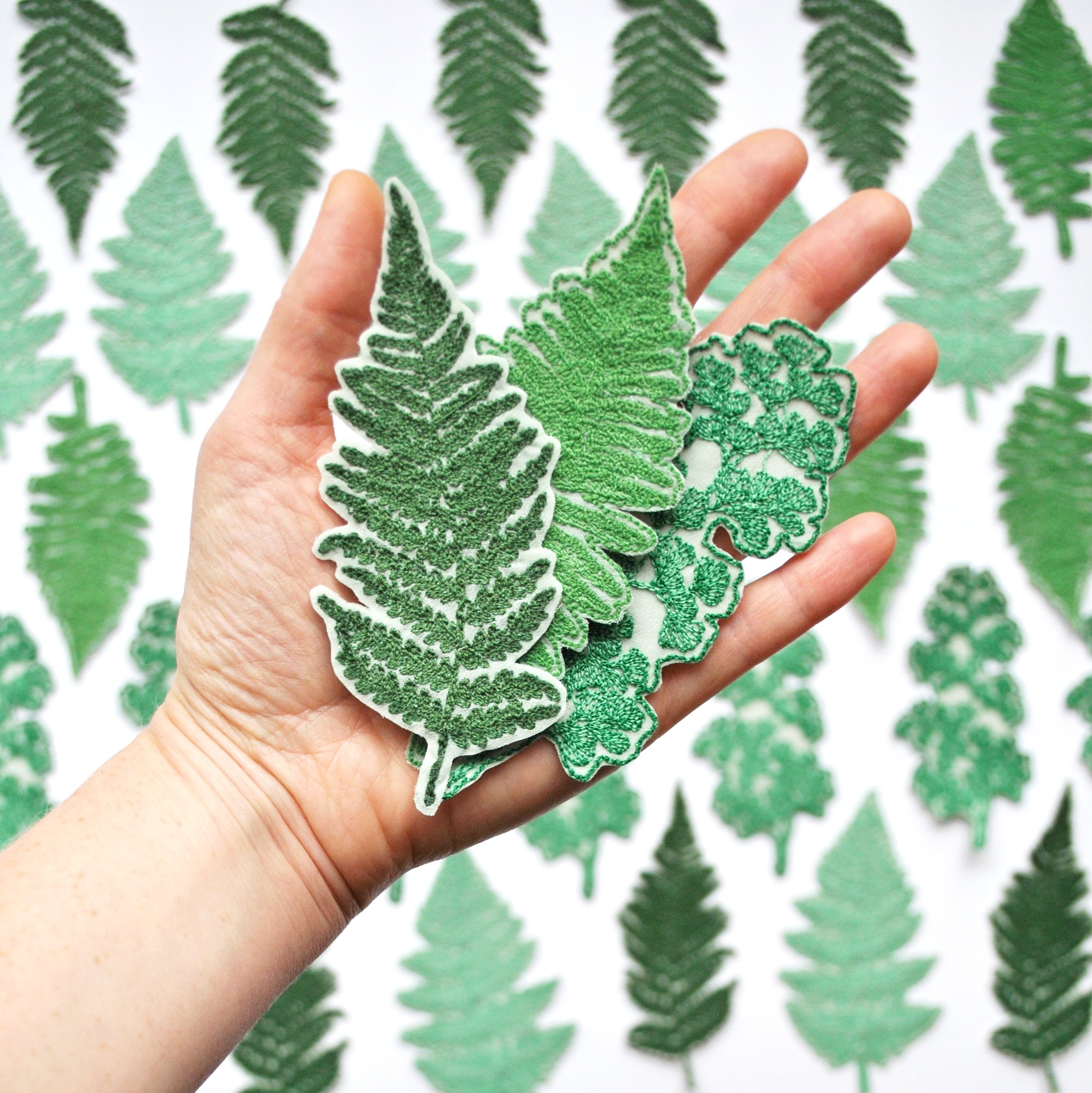 Fern Patches: 4 Pack